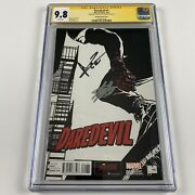 Daredevil 1 Cgc 9.8 Signed By Charlie Cox And Stan Lee 1100 Sketch Variant