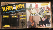 Kan Jam 2 In 1 Ultimate Disc Game Original And Gliders Indoor/outdoor Value Pack