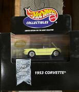 Factory Case Of 12 - Hot Wheels 100 1953 Corvette Yellow Rare Cars Collectibles