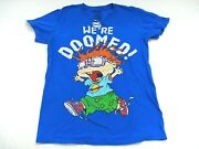 Nickelodeon Sz. S Womenand039s Were Doomed Rugratst-shirts Preowned