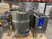 Mkel 60 T 60 Gallon Cleveland Mixer Steam Kettle With Agitation Nice