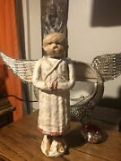 Debbee Thibault's Very Rare And Retired Angel Of The Snowmen