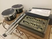 Pearl Sy-1 Syncussion Drum Machine Synthesizer Synth W/ Toms And Stands