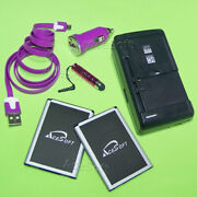 6in1 2x 3520mah Battery+wall Charger+cable For Lg Optimus F7 Us780 Bl-54sh Phone