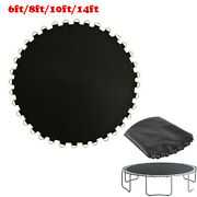 Durable Trampoline Mat 6/8/10/2/ Round Frame Bounce Bed Pad