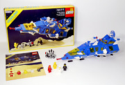Vintage 1986 Lego Space System — 6985 Cosmic Fleet Voyager — Complete In Box Cib