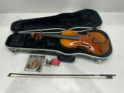 D'luca Prov-ca900-44 Strauss 900 J.s. Antique Finish Violin 4/4 With Skb Molded