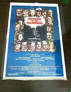 Movie Poster Voyage Of The Damned Original Film Orson Welles Faye Dunaway 1976