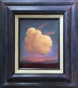 Clouds Of New Mexico Sky Sunset Mauve Colors Framed 17 X14