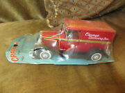 Vintage Antique Rare Cragstan Toys Tin Friction 1930s Express Delivery Toy Truck
