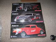 Traxxas Snap On Limited Edition Gtm Super Car 33 Hot Rod 35 Hot Rod Truck 4tec