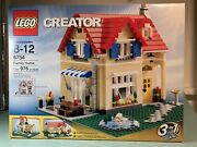 Lego Creator Family Home 6754 New In Sealed Box. + 8 Minifigures