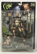 Stan Winston Creatures Zynda Realm Of The Claw Cat W/ Base 8 Action Figure-nip