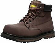 Larnmern Work Boots For Men Waterproof Steel Toe Shoes Safety Indestructible Wor
