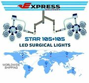 Operating Light Double Satellite Star 105+105 Ceiling Light Color White/yellow