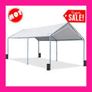 10andrsquo X 20andrsquo Portable Heavy Duty Canopy Garage Tent Carport Car Shelter Steel Frame