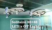 Led Solitaire 48+48 Surgical Ot Light Operation Theater Lights Led Surgical Lamp