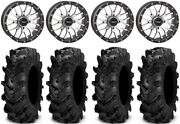System 3 St-3 Mh 18 Wheels 34 Cryptid Tires Polaris Rzr Turbo S/rs1