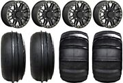 Kmc Cage Beadlock 15 Wheels Black 30 Sand Stripper Xl/hp Tires Rzr Ts / Rs1