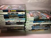 New And Sealed Xbox 360 Games Lot Factory Sealed