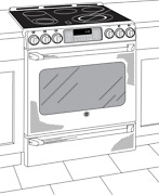 Ge Stove Oven Cafandeacute Series 30 Radiant Range Baking Drawer Cs980snss Used As Is