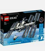 Lego Ideas International Space Station [21321, 864 Pieces, Ages 16+, Space] New