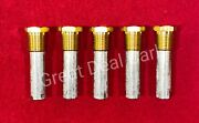 Engine Pencil Zinc Anode E2c Size 5/8andrdquox2andrdquo With 1/2andrdquo Npt Brass Plug 5 Pack