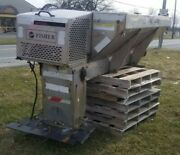 Fisher Procaster 94710 Stainless Steel 8and039 Rc Box Salt Sand Spreader W/ New Honda