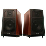 Eagle Tech Arion Legacy 2.0 80w High Fidelity Cherry Wood Standalone Speakers