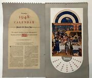 Book Of Hours 1948 Duc De Berry Middle Ages Art Calendar As In Life Magazine 1/5