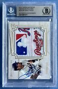 2017 Topps Definitive Patch Laundry Tag Mike Piazza D 1/1 Mets Bgs Autograph