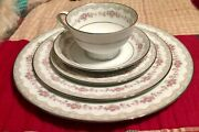 Vintage Noritake China Glenwood 5770 Service For 12 And 10 Extra Serving Pieces