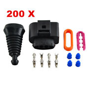 200 Sets Ignition Coil Connector Repair Kit Fits Audi A4 A6 A8 For Vw 1j0973724