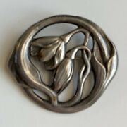 Evald Nielsen, Silver Sterling Pin, Gorgeous Antique, Collectible