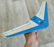 Vintage Old Iron Toy Airplane Ussr Soviet Russia