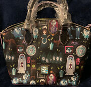 Disney Dooney And Bourke Haunted Mansion Satchel Great Placement Nwt