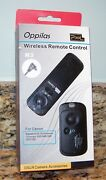 Pixel Oppilas N3 Wireless Remote Control For Canon Eos Dslr D-series Cameras Nos