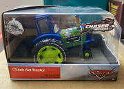 Disney Store Pixar Cars Clutch Aud Tractor Diecast Chaser