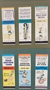 Vintage Matchbook Cover Collection Pin Up Girls