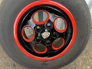 Porsche 944 225/60r15 Phone Dial Rims And Tires Set Of 4 Custom Paint Restored