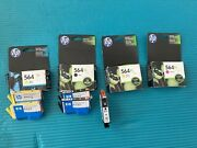 Includes All 9 -hp 564xl Color Ink Cartridges Black Yellow Photo And Magenta