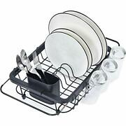 Kitchen Premium Expandable Dish Drying Rack Over The Sink Adjustable Dish Rack