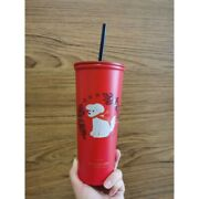 2020 New Starbucks Red Dog Cup Stainless Steel Christmas Doggy Cold Cup 20oz