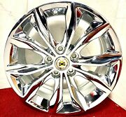 Set Of 4 Factory Gm Triple Chrome Plated 18 X 8.5 Wheels Fit Most Cadillac