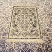 Yilong 2.5and039x4and039 300 Lines Antique Home Decor Rug Hand Knotted Silk Carpets 258h
