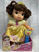 New Disney My First Princess Belle Baby Doll 10.5 Inches With Pacifier