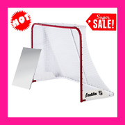 72 Inch Hockey Goal Sports Net Outdoor Game Nhl Steel 1.5 Inch Post Durable New