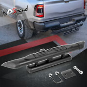 J2 2 Receiver Truck Oval Steel Double Stack Tow Hitch Step For Chevy Gmc Toyota