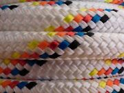 7/16 X 150 Ft. Double Braidyacht Braid Polyester Rope Hank.made In Usa.