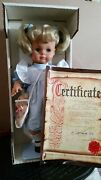 Lissi Doll Mary 1992 West-germany Ltd 135/1000 World Wide Nrfb Complete Set.